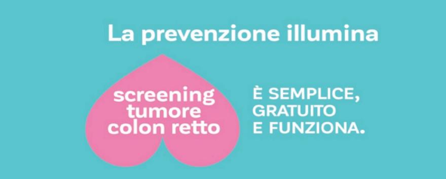 Campagna Screening Tumore Colon Retto